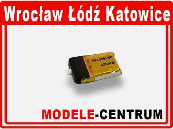 Akumulator 3,7V / 220mAh Li-Po