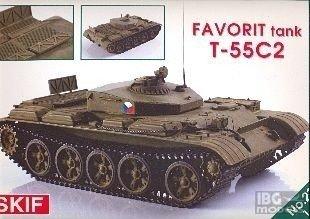 SKIF 231 1/35 T-55C2 Favorit Tank