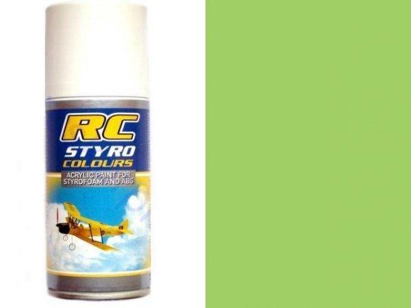 Lakier RC STYRO 008 GREEN FLUORESCENT do pianki