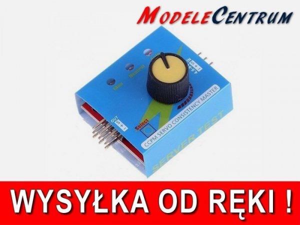 Tools - Serwo Tester CCPM - tester serw Manual/Aut servo