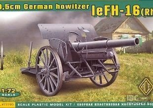 ACE 72290 1/72 10,5cm German Howitzer leFH