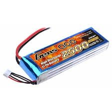 Akumulator Gens Ace: 2500mAh 11.1V 25C
