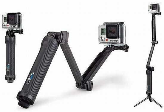 3-ramienny statyw do kamery GoPro ( 3-way grip I a