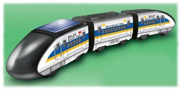 Pociąg edukacyjny - Zestaw solarny