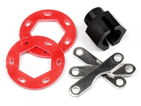 FIBERGLASS DUAL DISK BRAKE CONVERSION KIT 87025