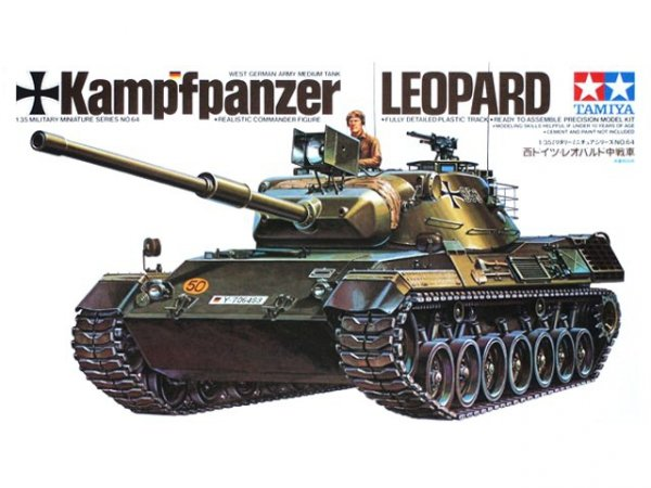 Tamiya 35064 WEST GER. LEOPARD TANK 1/35