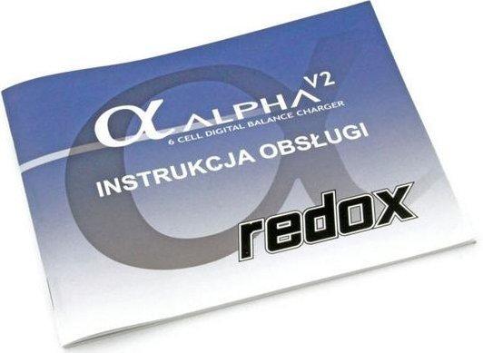 Ładowarka REDOX ALPHA V2 + zasilacz