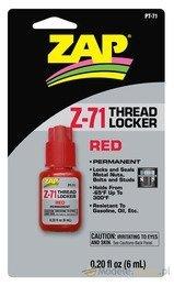 Klej do śrub i gwintów ZAP Z-71 czerwony-mocny