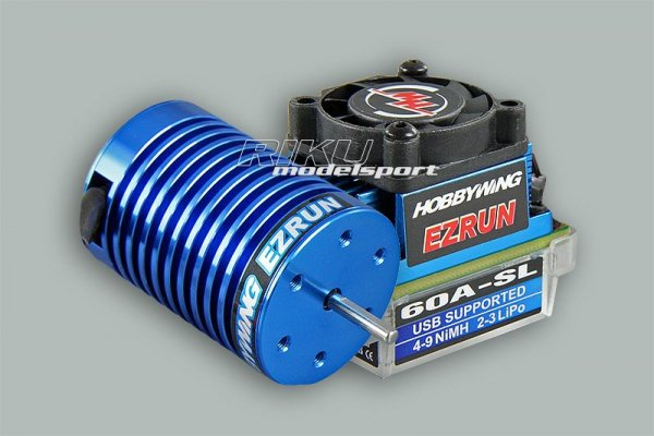 Zestaw EZRUN - regulator 60A + silnik bezszczotkowy 3650S