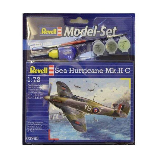 Revell 63985 Model Set Sea Hurricane Mk.II C