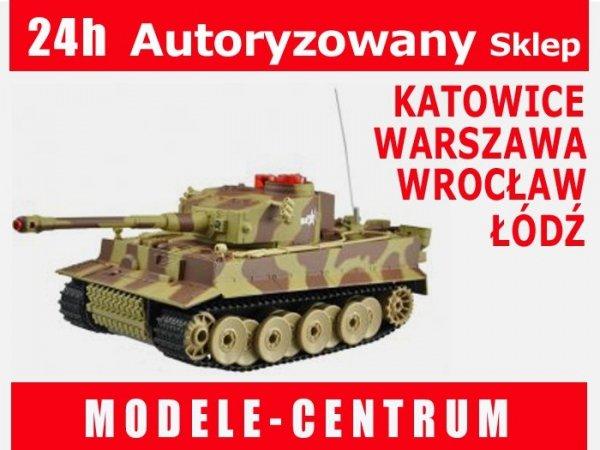 Czołg German Tiger RTR 1/24