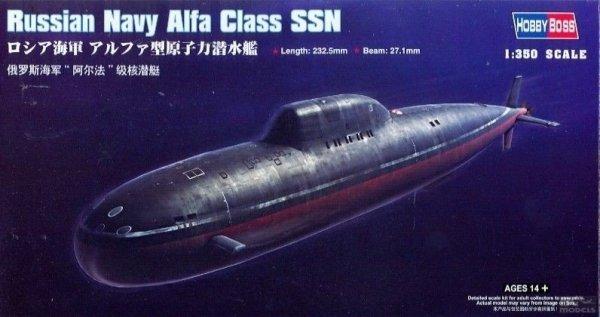 HOBBY BOSS 83528 1/350 Russian Navy Alfa C