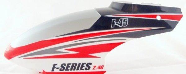 Kabina obudowa czerwona F645