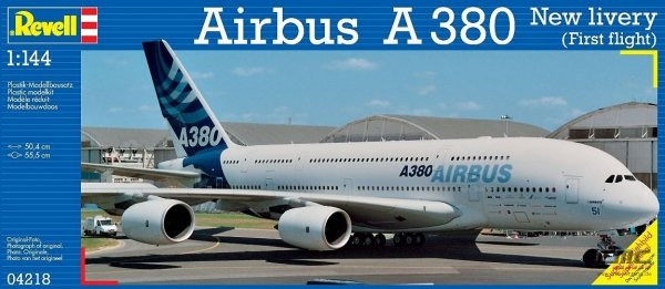 REVELL 04218 AIRBUS A-380 FF 1:144