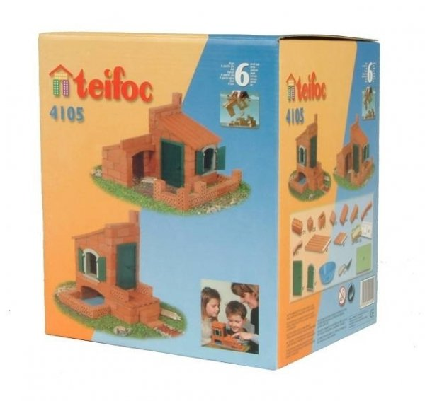 TEIFOC 4105 Cegiełki Domek 2 projekty