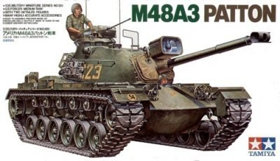 TAMIYA 35120 1/35 U.S. M48A3 Patton