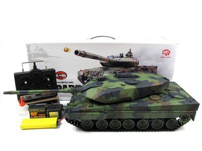 Czołg Leopard 2A6 1:16 + Dym 2,4GHz Heng Long