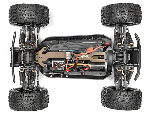 Maverick STRADA RED MT 1/10 4WD ELECTRIC MONSTER TRUCK AUTO RC