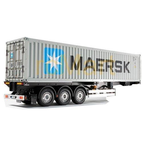 Naczepa kontener Maersk 40 ft. Tamiya