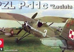 "Plastyk S046 1/72 PZL P-11c ""łaciata 3"""