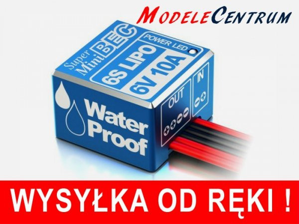 Wodoodporny stabilizator napięcia BEC SkyRC 10A 2-