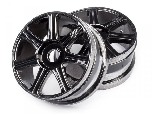 HB EDGE Wheel Black Chrome/2pcs 67768