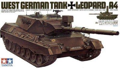 TAMIYA 35112 WEST GER. LEOPARD A4