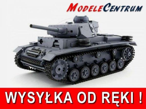 Czołg German Panzer III ausf. L  1:16 Dym