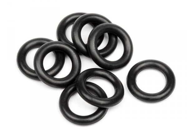 O-RING 6x9.5x2mm (BLACK/8pcs) 6811
