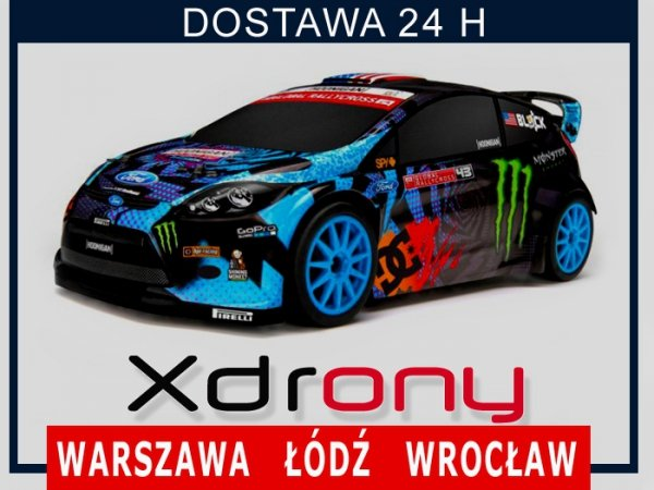 HPI KEN BLOCK 2013 GRC MICRO RS4 RTR FORD FIESTA  1/18