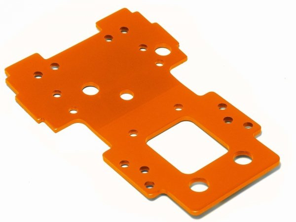 BULKHEAD LOWER PLATE 2.5mm (ORANGE) 105892