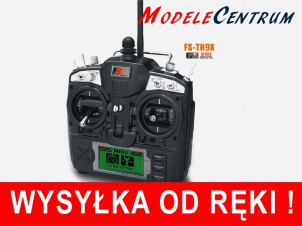 Aparatura  FlySky TH9X + odbiornik R9B  9 kanałowa