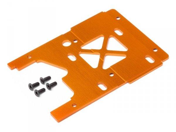 ENGINE PLATE 2.5mm 7075/ORANGE 105896