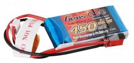 Gens Ace: 450mAh 7.4V 25C Gens Ace Akumulator