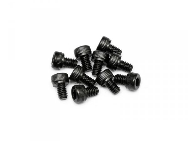HPI RACING CAP HEAD SCREW M4X6MM (10PCS) #94502