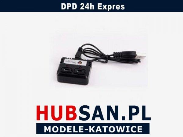 Ładowarka do akumulatorów Hubsan  z 4 wejściami