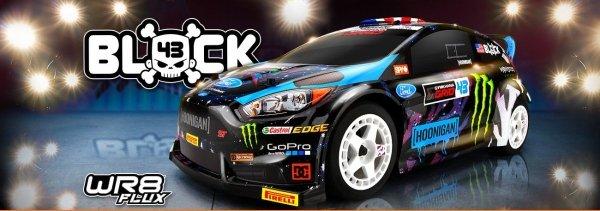 KEN BLOCK 2015 FORD FIESTA ST RX43 WR8 FLUX