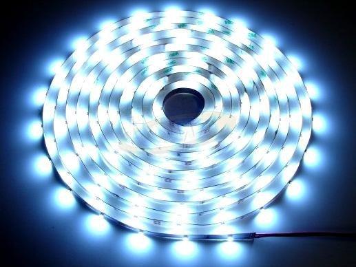Taśma diodowa 300 LED SMD3528 1m zimna biała ECOLI