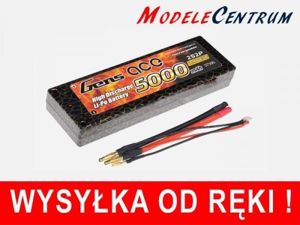 Gens Ace 5000mAh 7,4V 65C 2S2P Hard Cas Akumulator