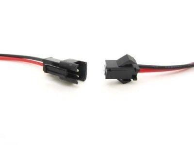 Para zarobionych konektorów SM