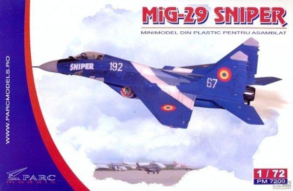 Parc Models 7209 1/72 MiG-29 Sniper
