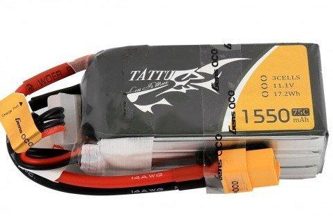 Akumulator Tattu 1550mAh 11,1V 75C 3S1P