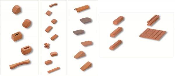 Teifoc  Zagroda ze Świnką 35 element 1020