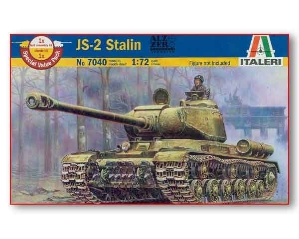 ITALERI JS-2 Stalin 1/72 7040