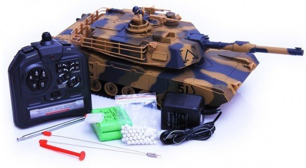 Czołg M1 Abrams RTR 1/24