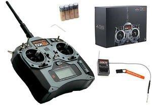 Aparatura DX6i DSM X Spektrum Air-Heli AR610 Mode1-2