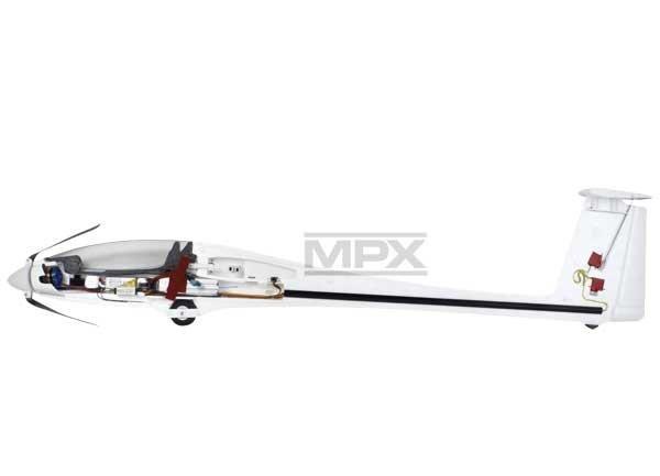 Samolot MULTIPLEX SOLIUS do lotów termicznych KIT