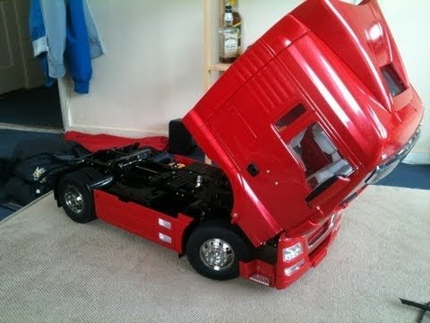 MAN TGX 18.540 4x2 XLX Red Edition Tamiya