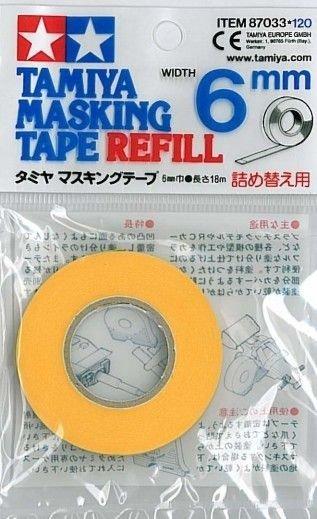 Taśma maskująca TAMIYA 87033 MASKING TAPE REFILL 6