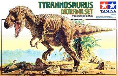 TAMIYA 60102 - 1:35 Tyrannosaurus Diorama Set